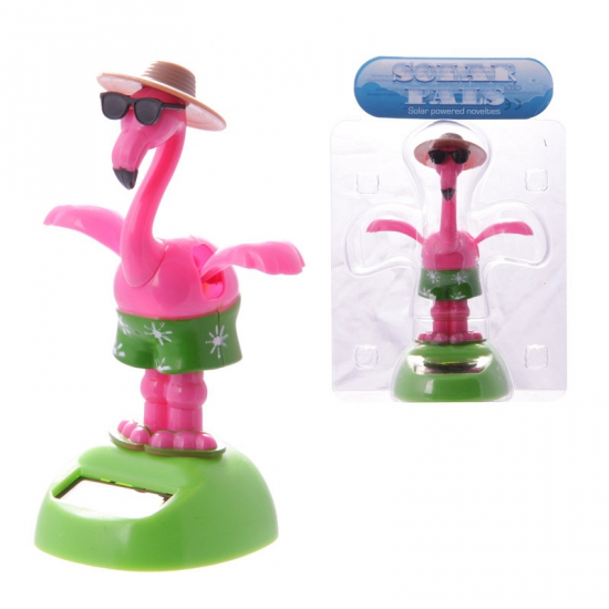 Dansende flamingo solar