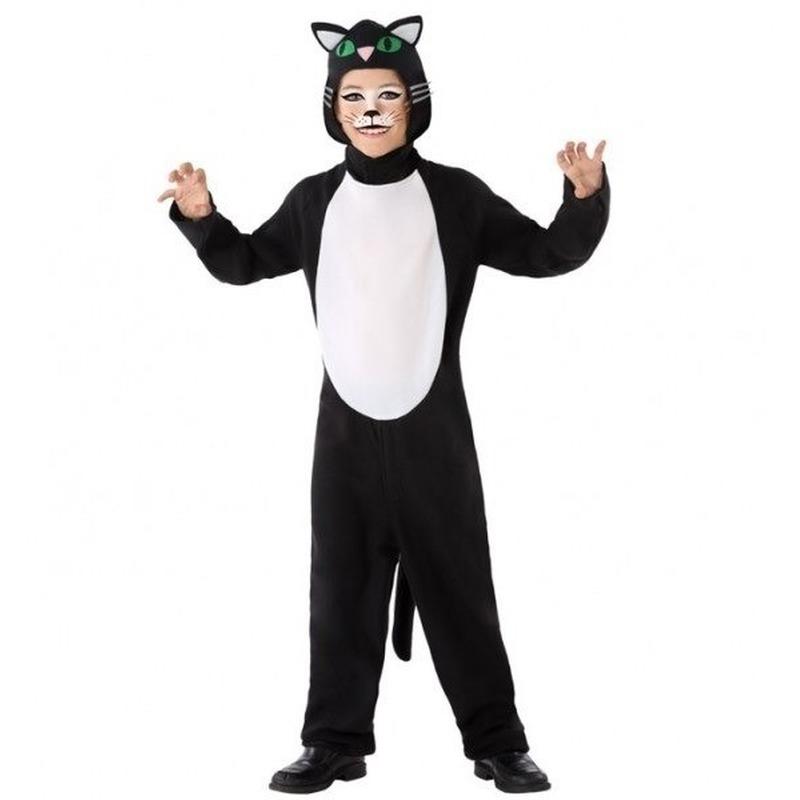 Dierenpak kat/poes verkleed kostuum voor kinderen