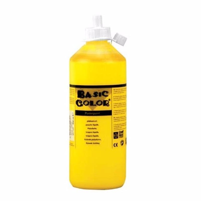 Dikke gele verf 1000 ml