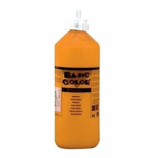 Dikke oranje verf 1000 ml