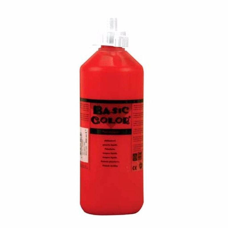 Dikke rode verf 1000 ml