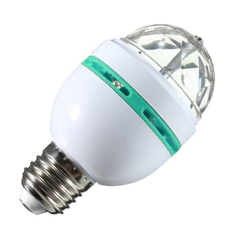Disco lamp/licht E27 fitting 30 kleureffecten
