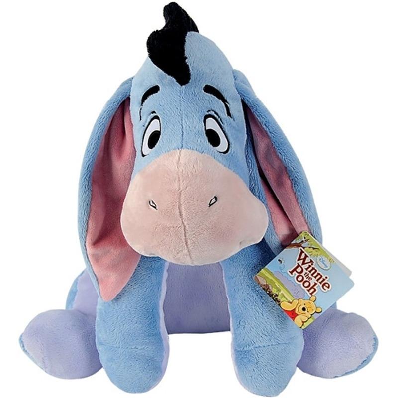 Disney speelgoed artikelen ezels knuffelbeest Iejoor Winnie de Poeh 61 cm
