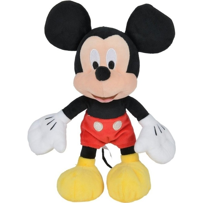 Disney speelgoed artikelen muizen knuffelbeest Mickey Mouse 25 cm
