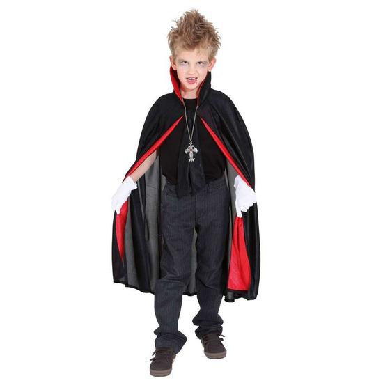 Dracula/vampier verkleed cape voor kinderen