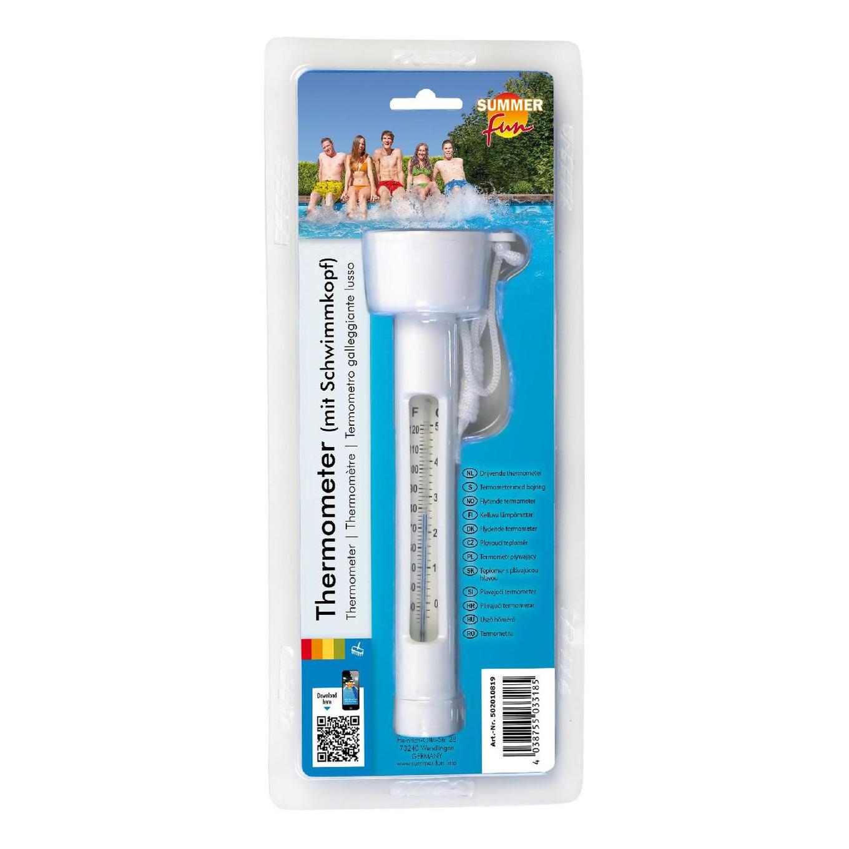 Drijvende water/zwembad thermometer