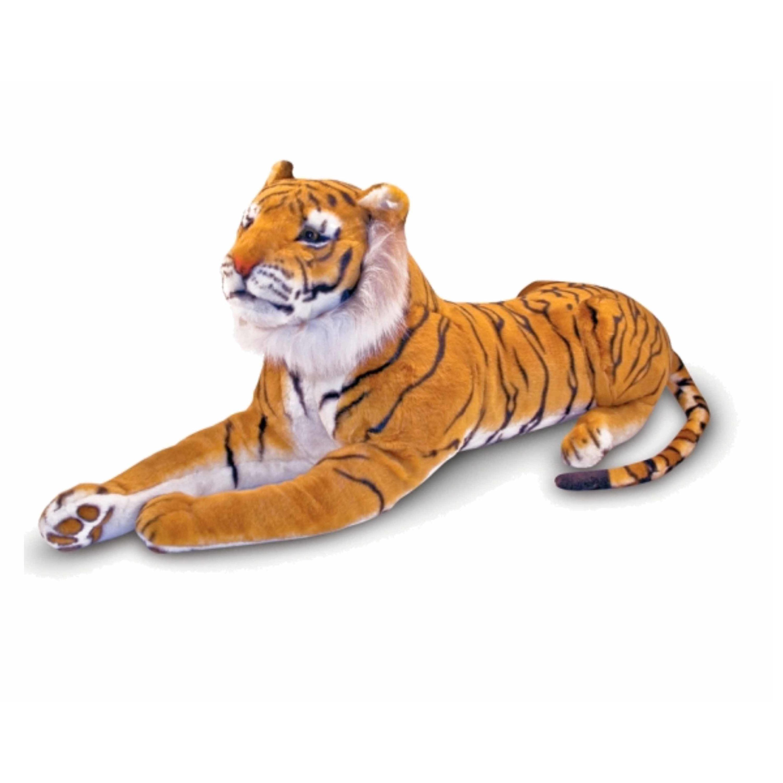 Extra grote tijger knuffels 100 cm