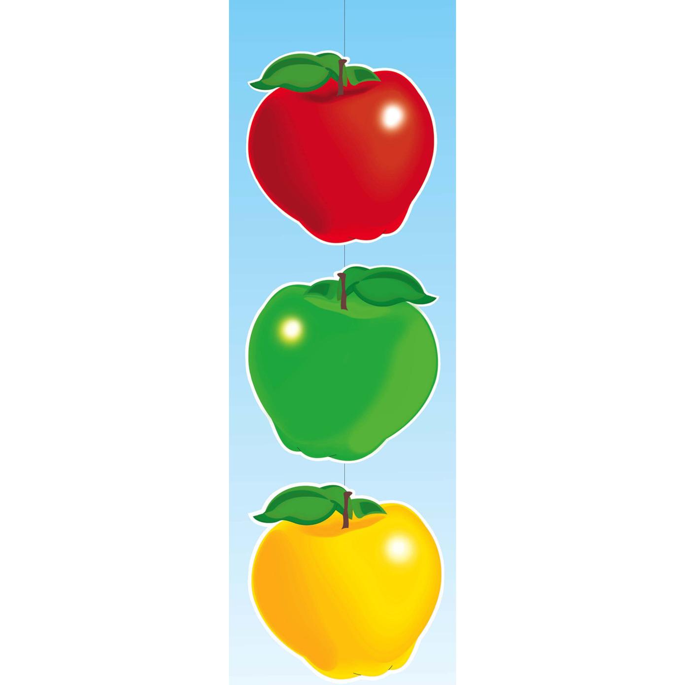 Feestartikel slinger met appels