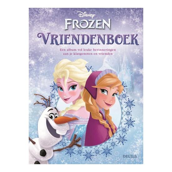 Frozen artikelen vriendenboek