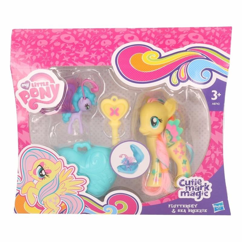 Gele My Little Pony schoenkado poppetjes