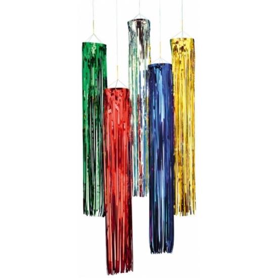 Glitter party decoratie hangers goud 80 cm