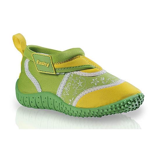 Groen/gele kinder waterschoenen