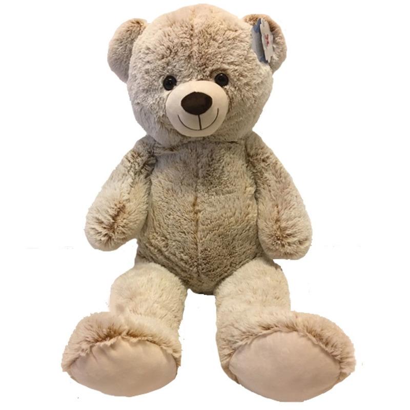 Grote pluche beige beer/beren knuffel 100 cm speelgoed
