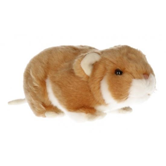 Hamsters knuffeltjes licht bruin