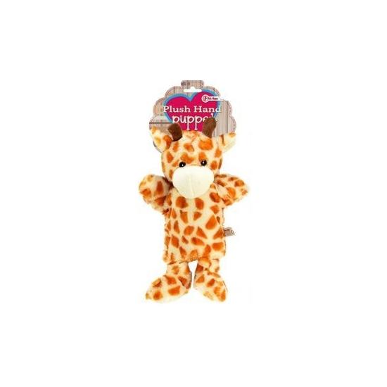 Handpop giraf 21 cm