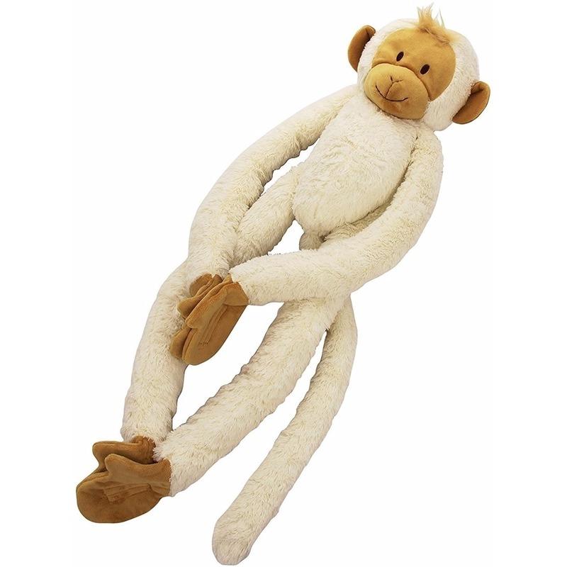 Happy Horse pluche knuffel witte slinger aap 45 cm
