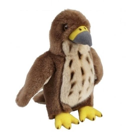 Havik speelgoed artikelen knuffelbeest 18 cm