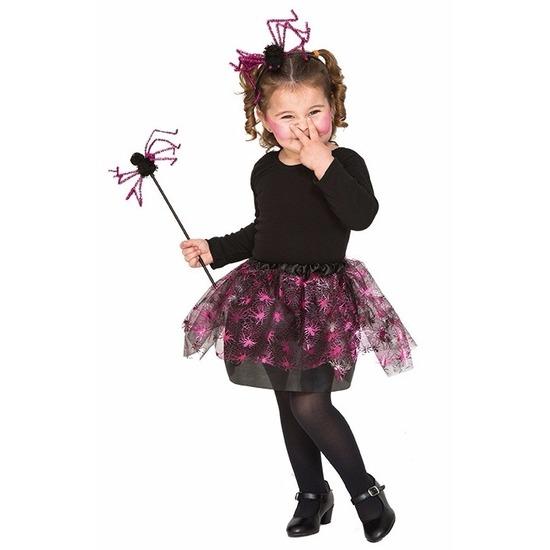Heksenset roze spin voor meisjes