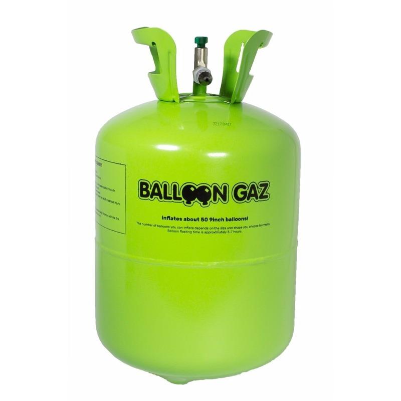 Helium tank voor 15 folie ballonnen