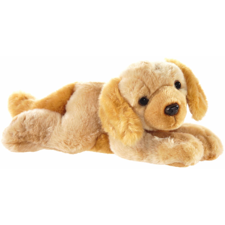 Honden speelgoed artikelen Labrador knuffelbeest blond 32 cm