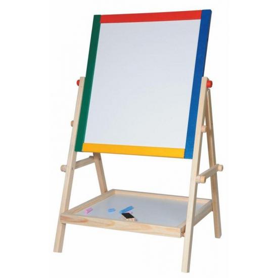 Houten schoolbord staand 38 x 65,5 cm