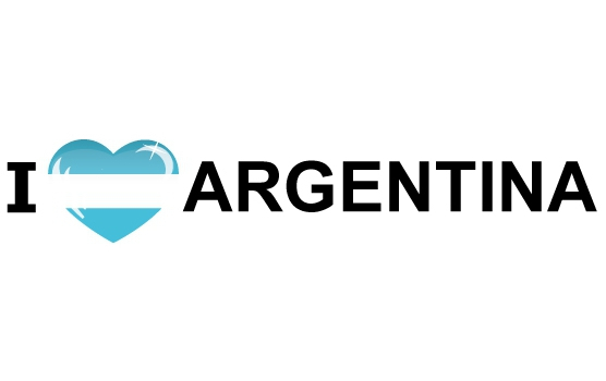 I Love Argentinie stickers