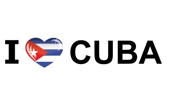 I Love Cuba stickers
