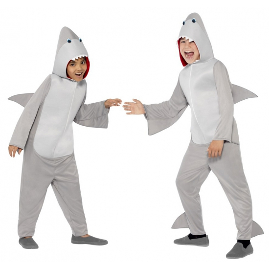 Jumpsuit haai all-in-one voor kinderen