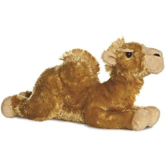 Kamelen speelgoed artikelen kameel knuffelbeest bruin 30 cm