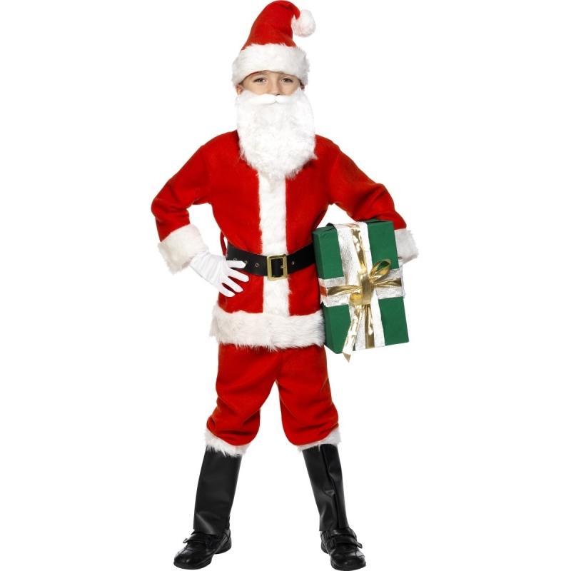 Kerstman outfit voor kinderen
