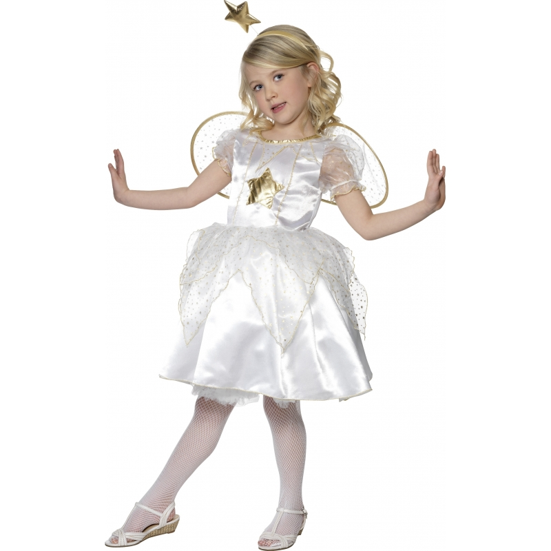 Kerststal kostuum engel jurkje