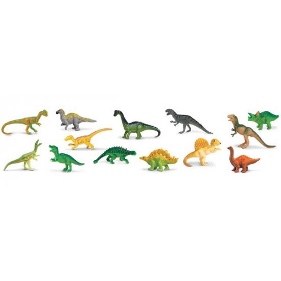 Kinder speelgoed dinosauriers van plastic
