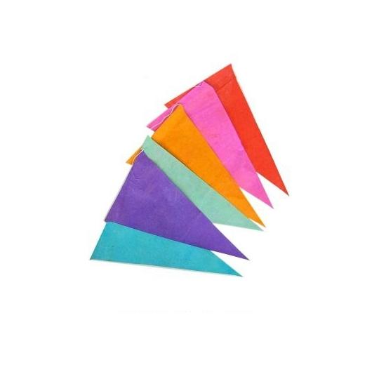 Kleuren slinger 10 meter