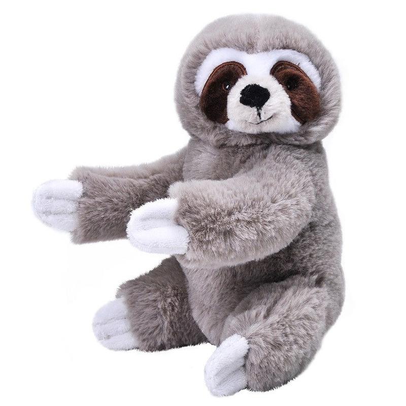 Knuffel luiaard grijs 25 cm knuffels kopen