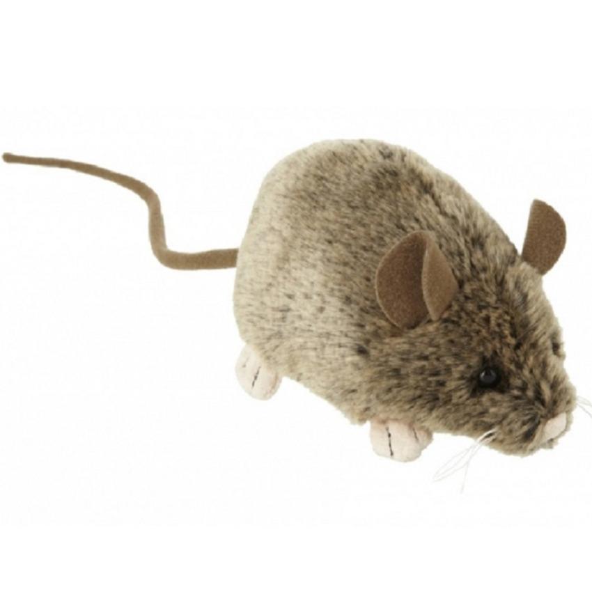 Knuffel muis/muizen van 12 cm