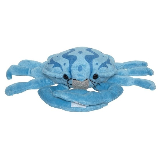 Knuffeldier krab 25 cm