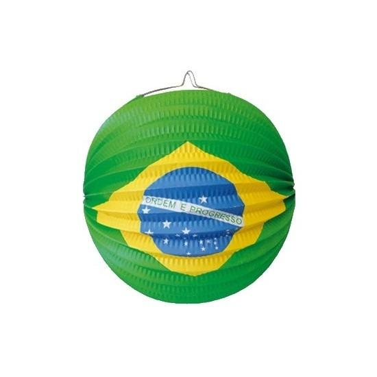 Lampionnen Brazilie versiering van 24 cm