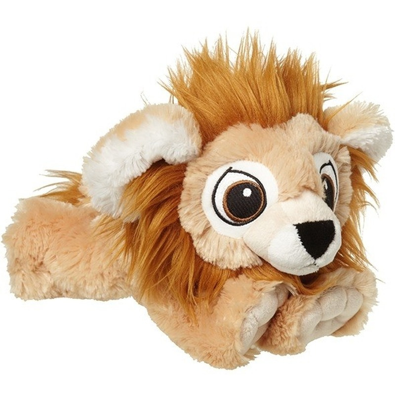 Leeuwen speelgoed artikelen leeuw knuffelbeest bruin 38 cm