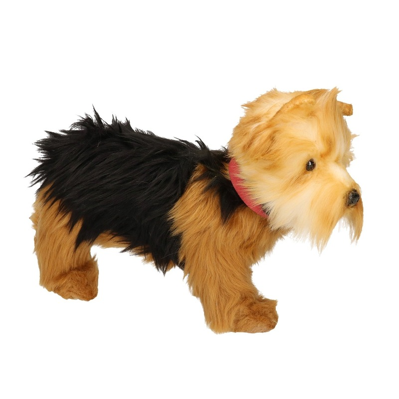 Levensechte Hansa pluche Yorkshire Terrier knuffel 25 cm