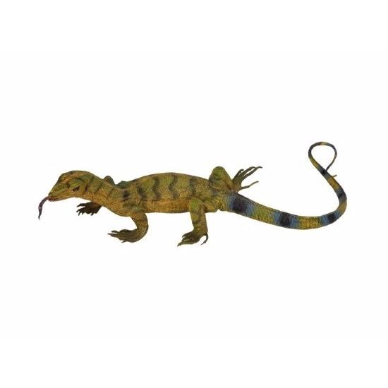 Levensechte varaan plastic speelgoed figuur 50 cm