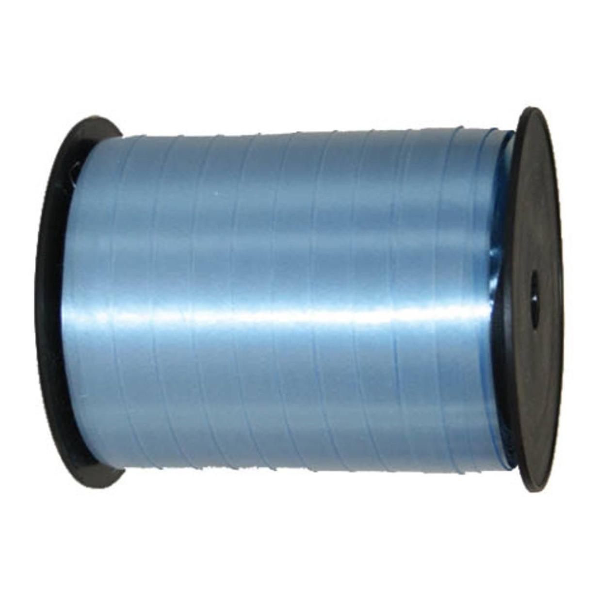 Lichtblauwe rol cadeau lint 500 m