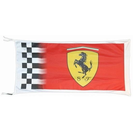 Logo vlag Ferrari 150 x 75 cm