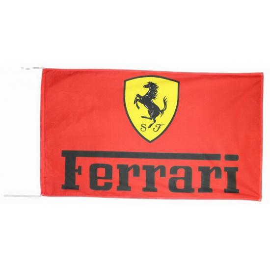 Logo vlag Ferrari 150 x 90 cm