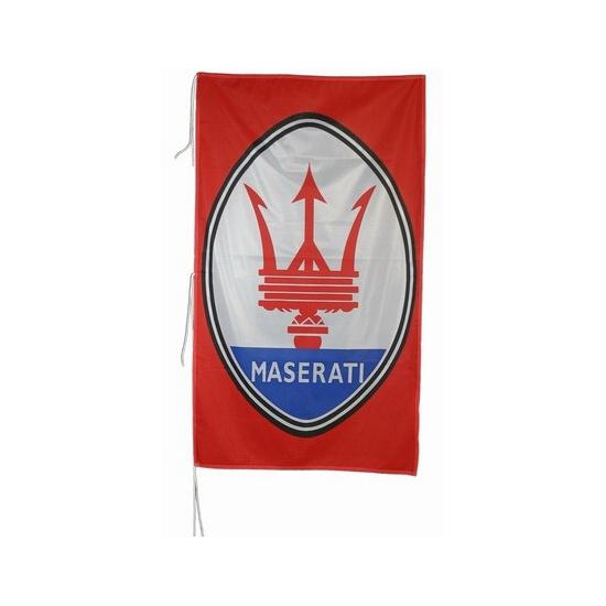 Logo vlag Maserati 150 x 75 cm