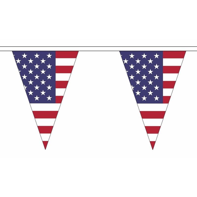 Luxe Amerika vlaggenlijn voor binnen en buiten