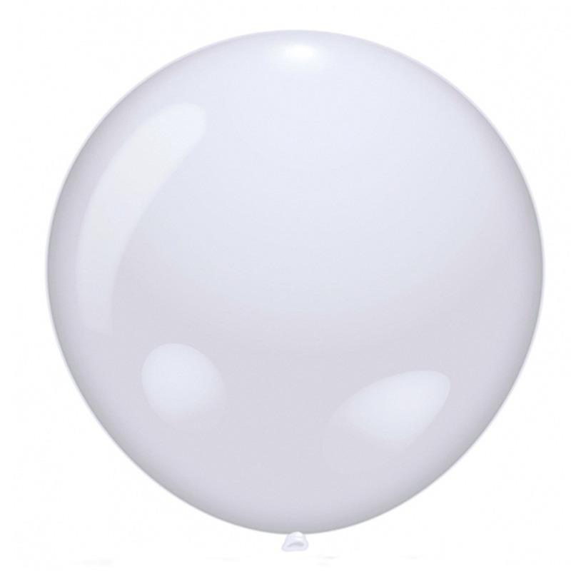 Mega ballon wit 90 cm diameter