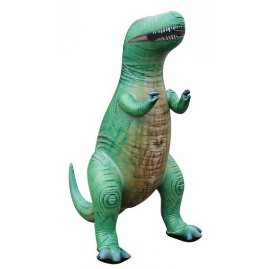 Mega realistische opblaas T-Rex 94 cm