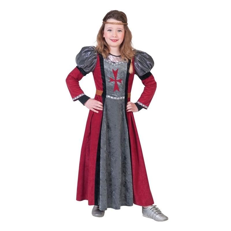 Middeleeuwse jonkvrouw verkleed jurk voor meisjes