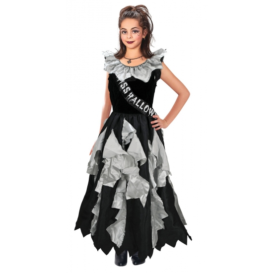 Miss Halloween verkleedkleding voor meisjes