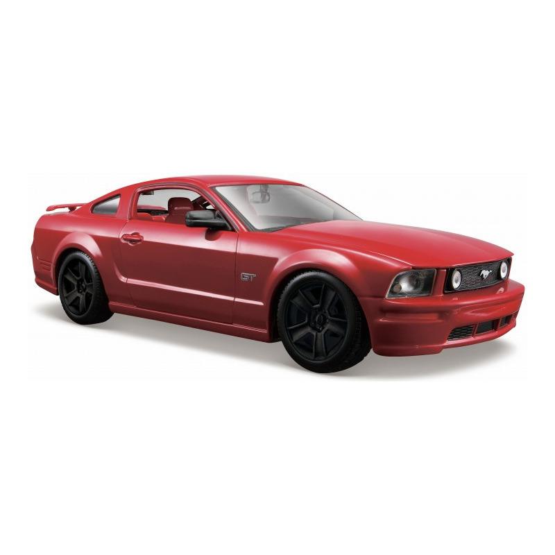 Modelauto Ford Mustang GT 2006 rood schaal 1:24/20 x 8 x 5 cm
